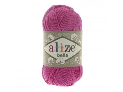 Příze Alize Bella 489 tm.růžová