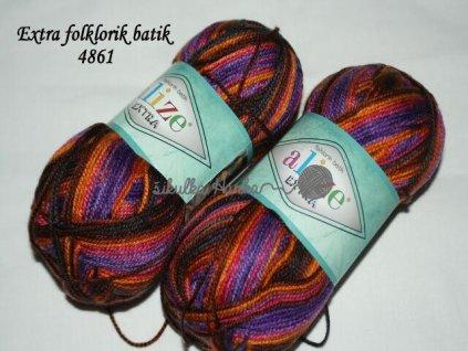 Alize Extra folklorik batik 4861