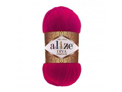 Alize Diva stretch 396 malinová