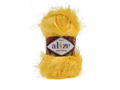 Alize Decofur 216 žlutá