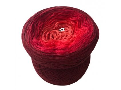 vyrn 6561Red ombre