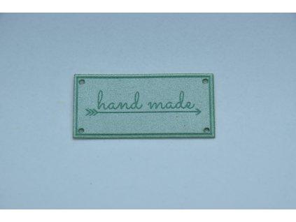 Hand made eko semiš 5x2,5cm mint