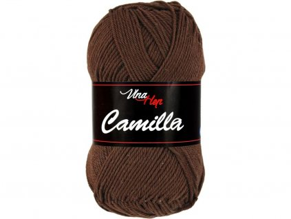 Příze Camilla 8229 čokoládová