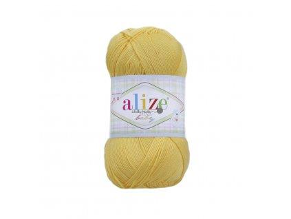 Alize Diva baby 216 tmavší žlutá