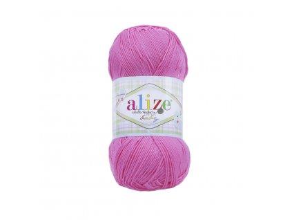 Alize Diva baby 121 sladká růžová