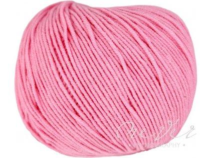 Jeans - Vlna Hep 8032 světlě růžová
