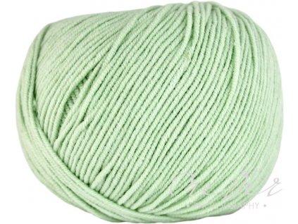 Jeans - Vlna Hep 8165 zeleno-šedá