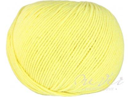 Jeans - Vlna Hep 8183 světlounká žlutá