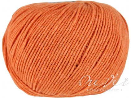 Jeans - Vlna Hep 8200 oranžovo-rezavá