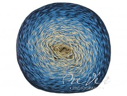 Floxy 9906 modro-béžová
