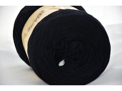 Cherubínka jednobarevná 1200m černá 340