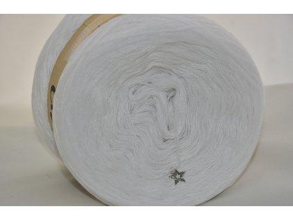 Cherubínka jednobarevná 1200m bílá 005
