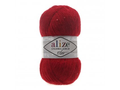 ANGORA GOLD STAR 106 Red