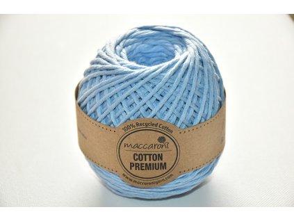 Cotton premium 1106076 světle modrá