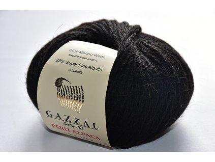 Peru Alpaca 2302 černá