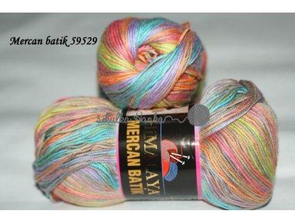 Mercan batik 59529 sv.barevná