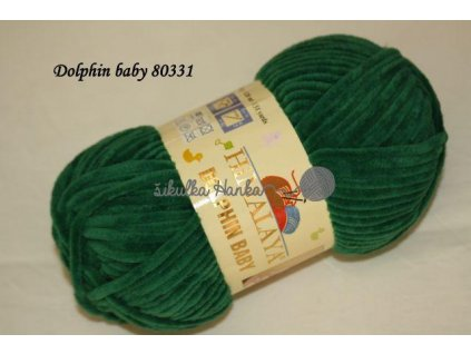 Dolphin baby 80331 tm.zelená
