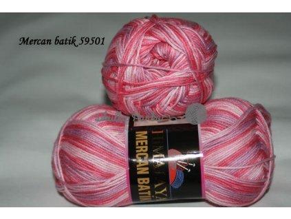Mercan batik 59501 sv.růžovo-fialová