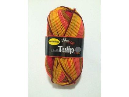 Tulip color 5206 oranžovo-růžovo-hnědá