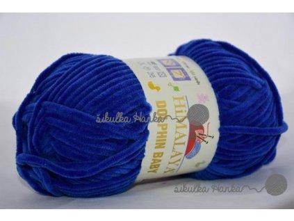 Dolphin baby 80329 královská modrá