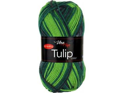 Tulip color 5212 zeleno-světlý melír
