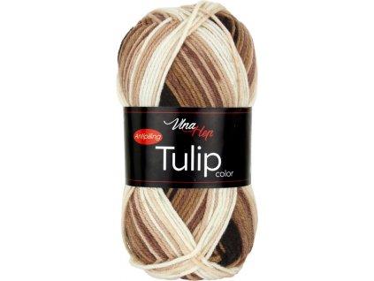 Tulip color 5217 hnědo-světlý melír