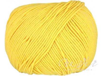 Jeans - Vlna Hep 8180 žlutá