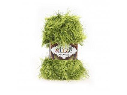 Alize Decofur 117 sv.zelená