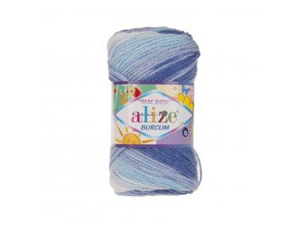 Burkum bebe batik 2165 modrá