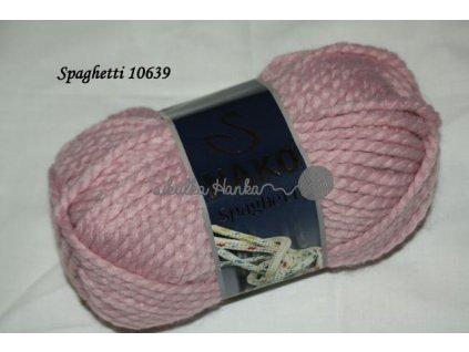 Příze Nako Spaghetti 10639 starorůžová
