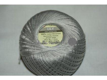 Příze Yarn Art Lily 4920 sv.šedá
