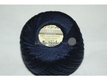 Příze Yarn Art Lily 0066 tm.modrá