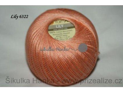 Příze Yarn Art Lily 6322 lososová