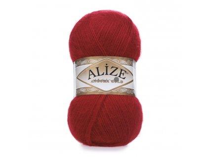 Příze Alize Angora gold 106 červená