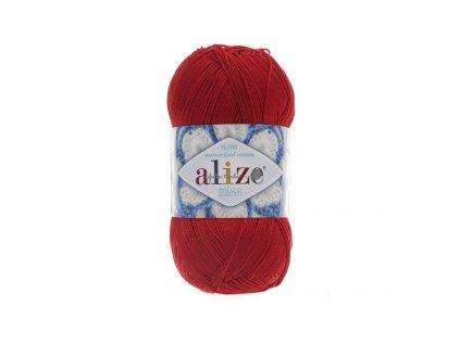 Alize Miss 56 červená