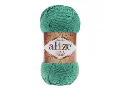 Alize Diva stretch 610 smaragdová