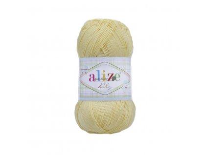 Alize Diva baby 187 žlutá