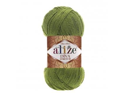 Alize Diva stretch 210 trávová