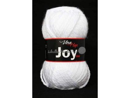 Příze Joy uni 4002 bílá