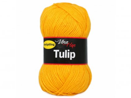 Příze Tulip 4182 tm.žlutá