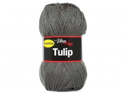 Příze Tulip 4236 tm. šedá