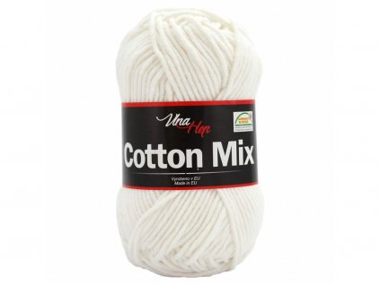 Cotton mix 8002 bílá