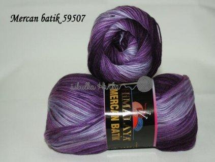 Mercan batik 59507 fialová
