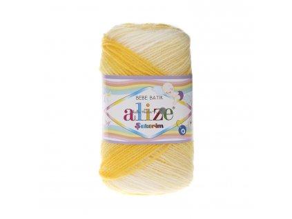 Sekerim bebe batik 6318 žluto-bílá