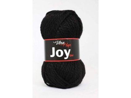 Příze Joy uni 4001 černá