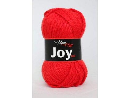 Příze Joy uni 4008 červená