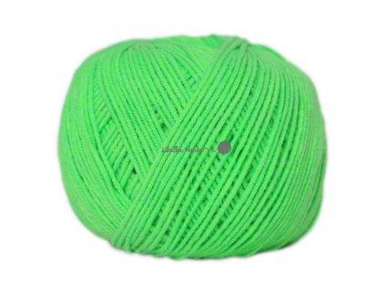 Jeans - Vlna Hep 8302 zelená neonová