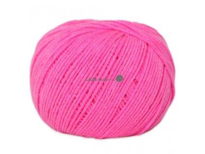 Jeans - Vlna Hep 8304 růžová neon