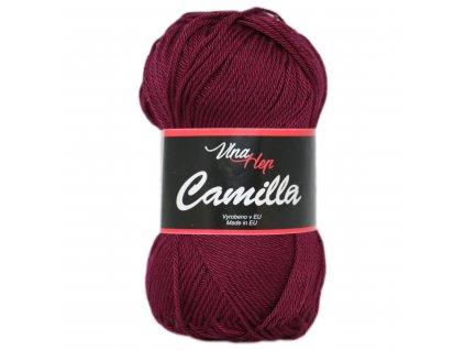 Příze Camilla 8024 vínová
