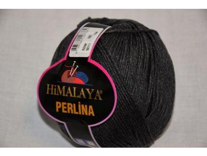 Příze Perlina 111 tm.šedá
